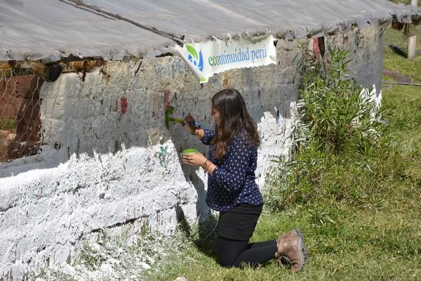 29 Mayo – Alina desarrollando la función artística.