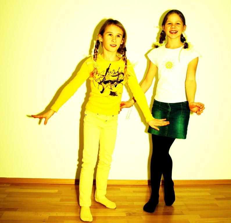Ausprobieren, Tanzen und Spaß haben...