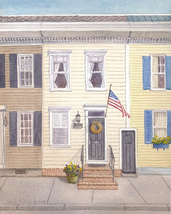Alexandria, VA, 8 x 10, commission