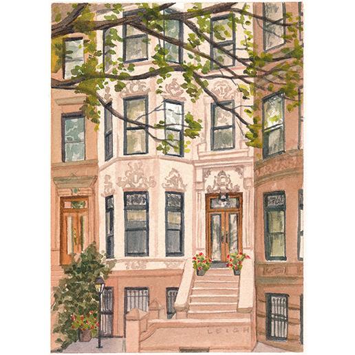 Brooklyn, NY, 5 x 7, commission