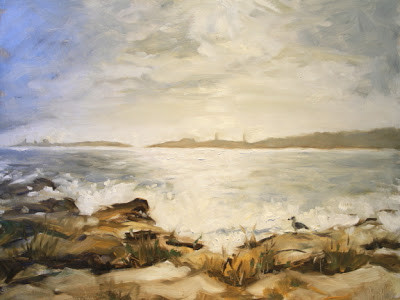 "Andrews Point of View, Oil on Masonite, 16x20""-- SOLD"
