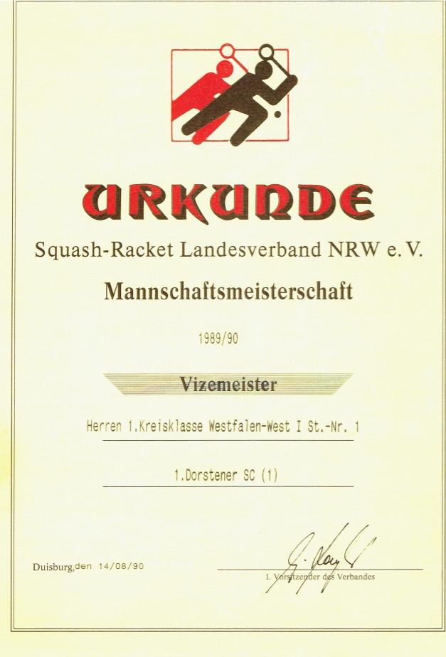 Vizemeister 1998 / 1990
