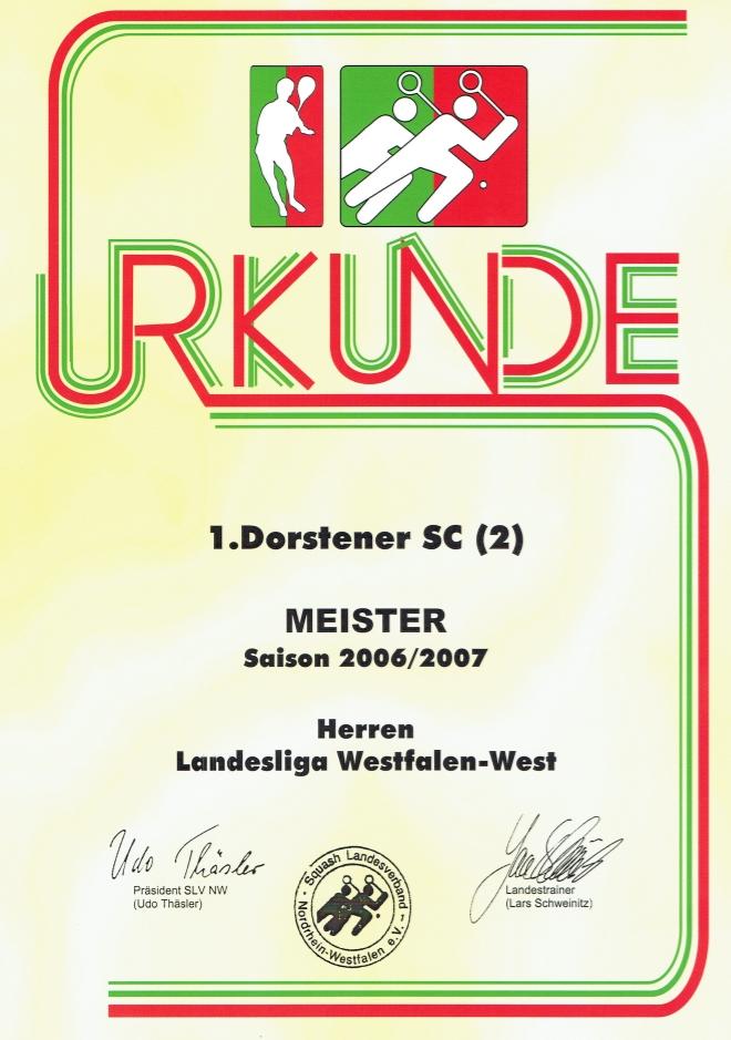 Meister 2006  / 2007
