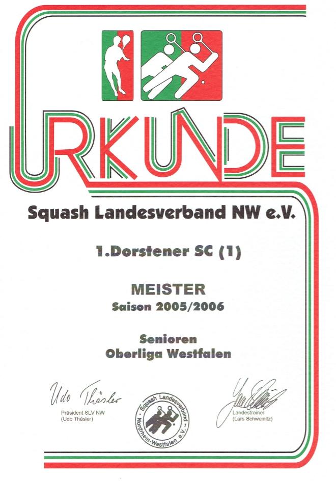 Vizemeister 2004 / 2005
