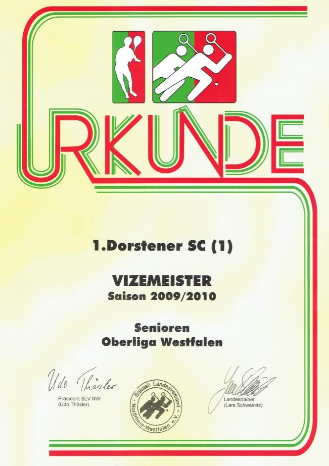 Vizemeister 2008 / 2009