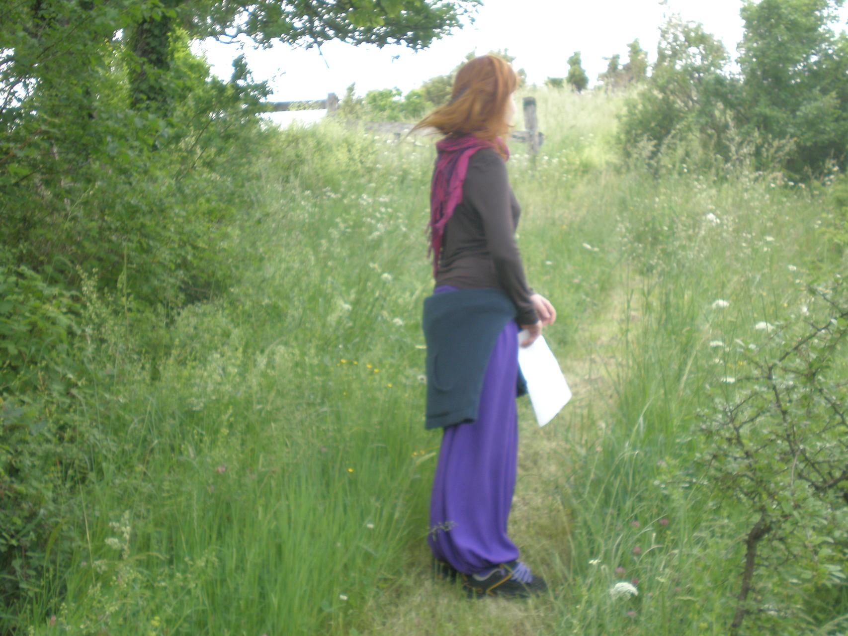 sentier de lecture du paysage