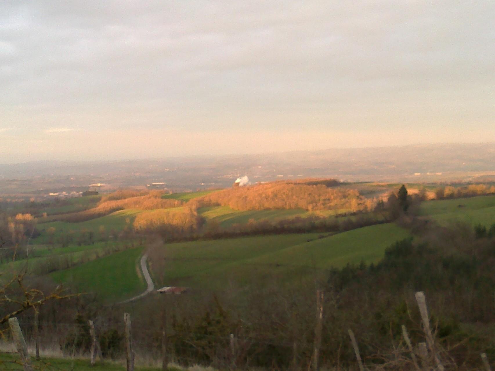 la plaine de Castres et le sidobre