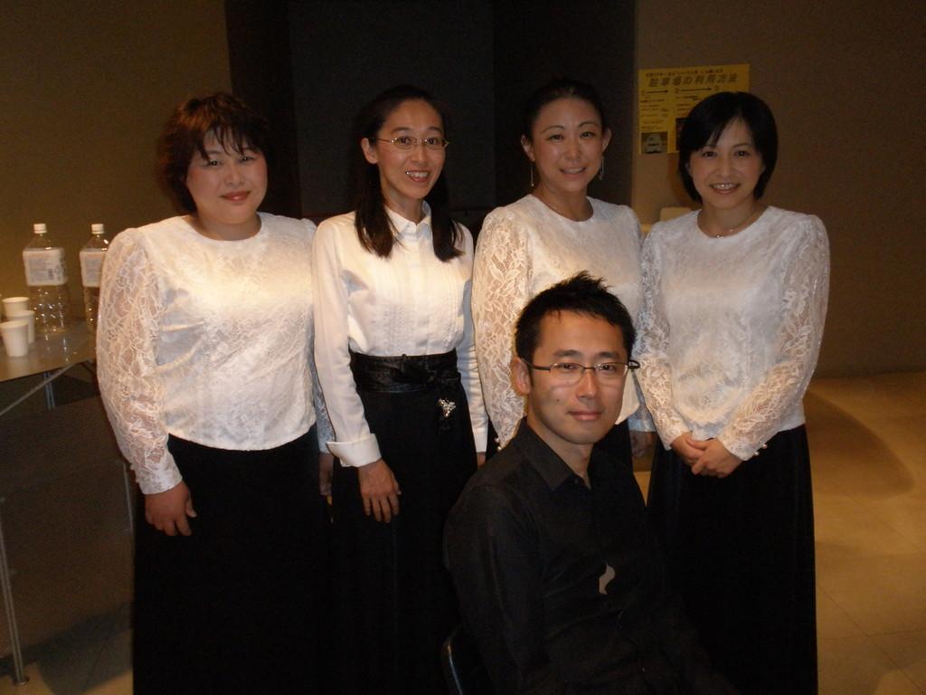 トワイライトの指揮者吉川先生と