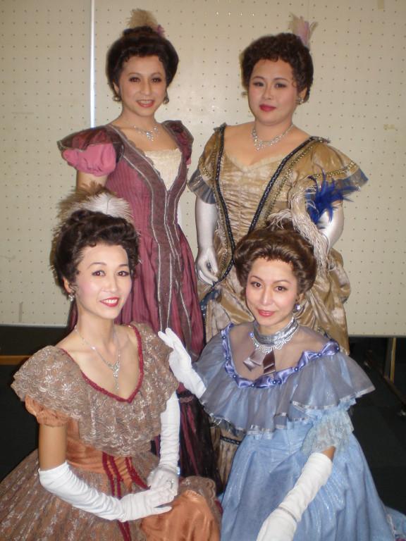 若草物語の4姉妹