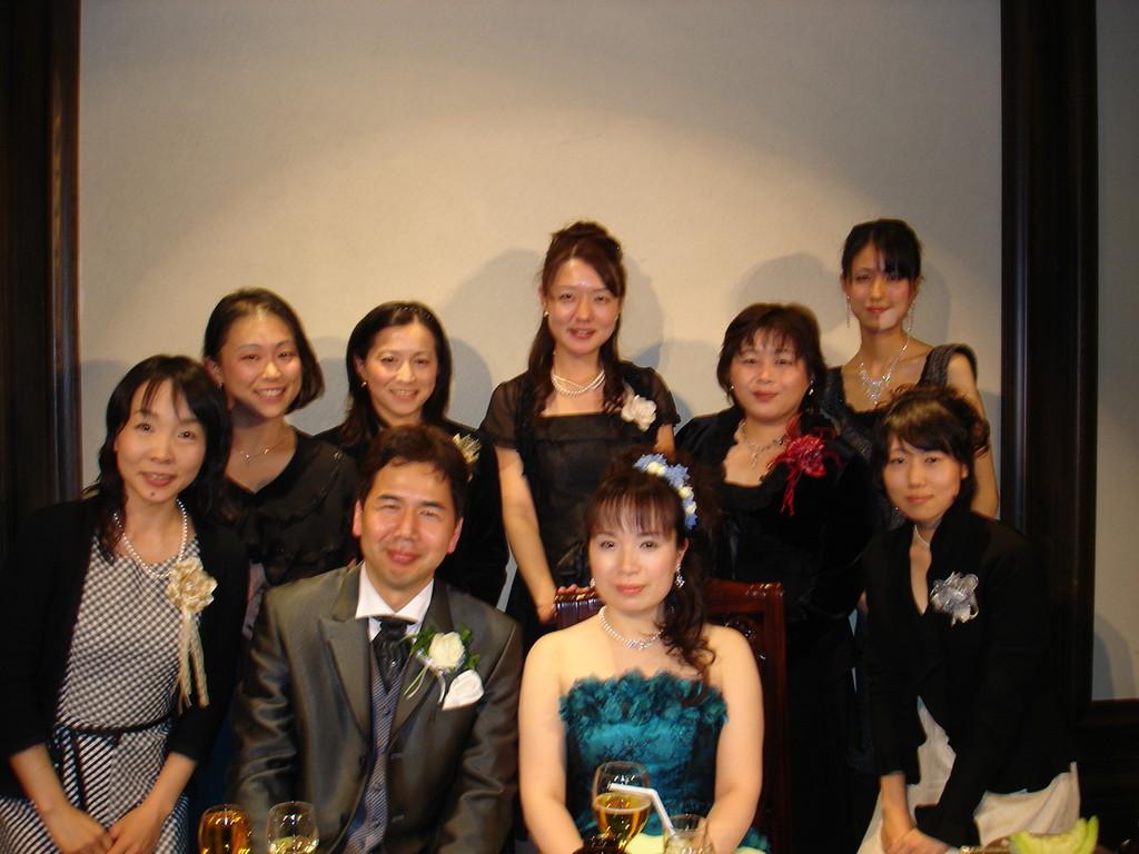 団員の結婚式