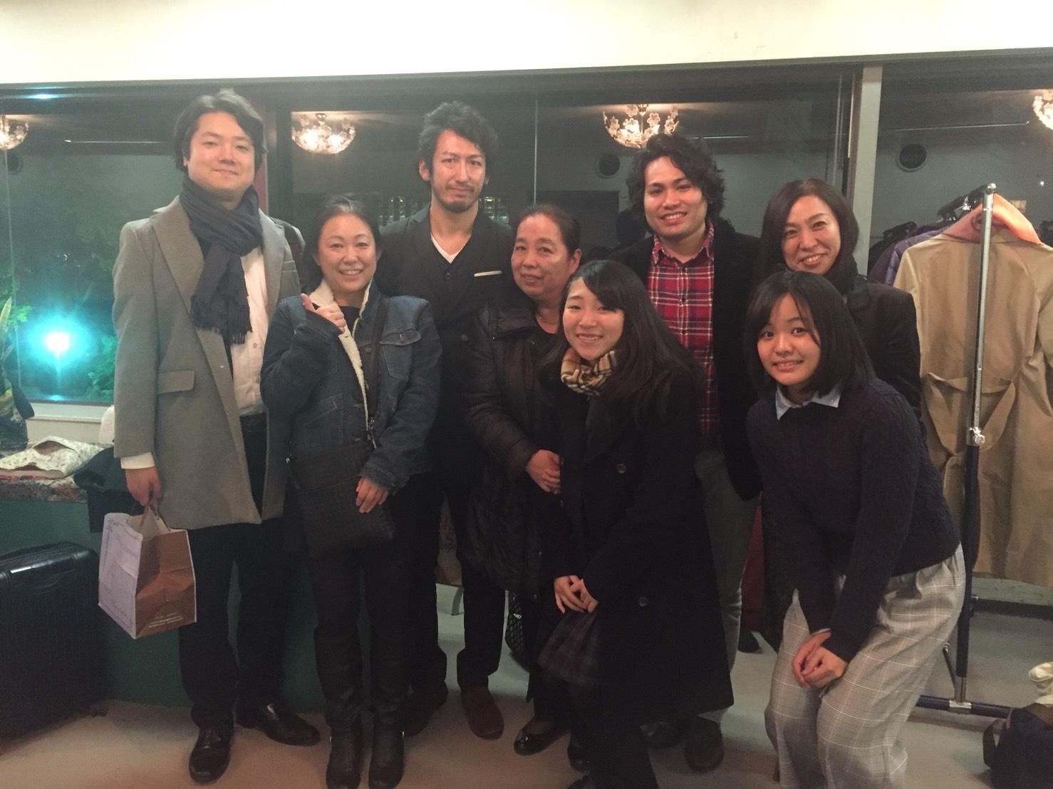楽日3幕からのマーリオ、ハンサムなアンジェロッティ、シャルローネそして浅野先生