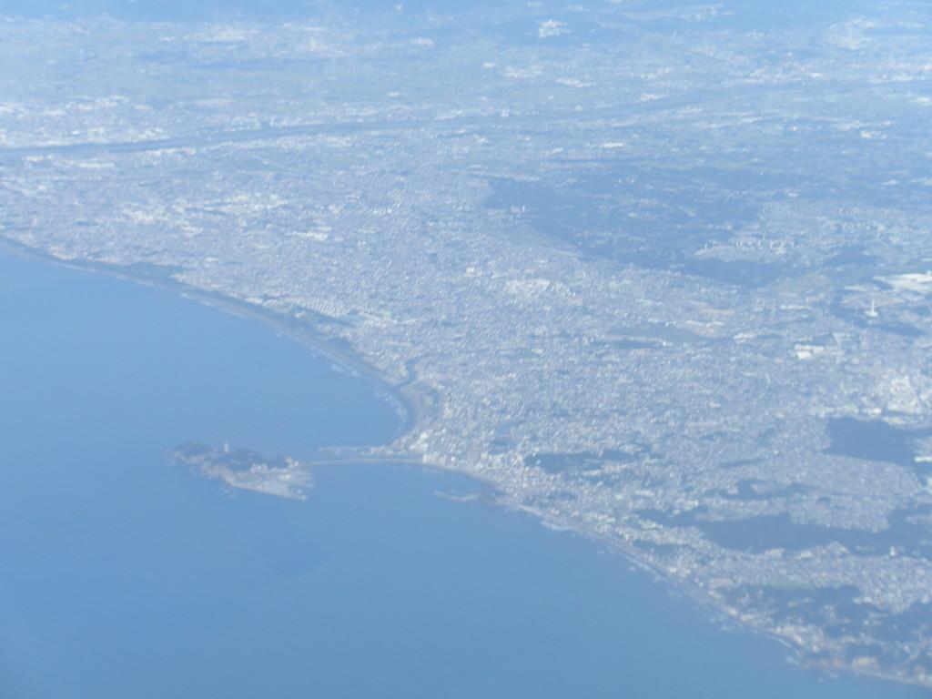 藤沢の航空写真