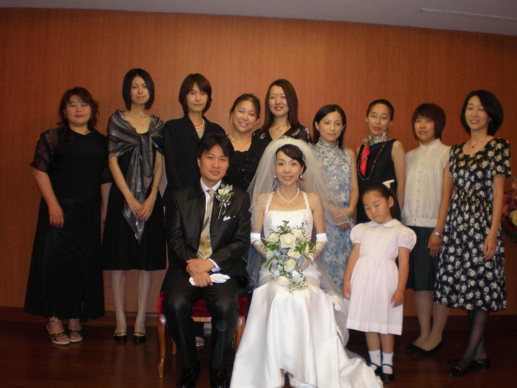 団員の結婚式その2
