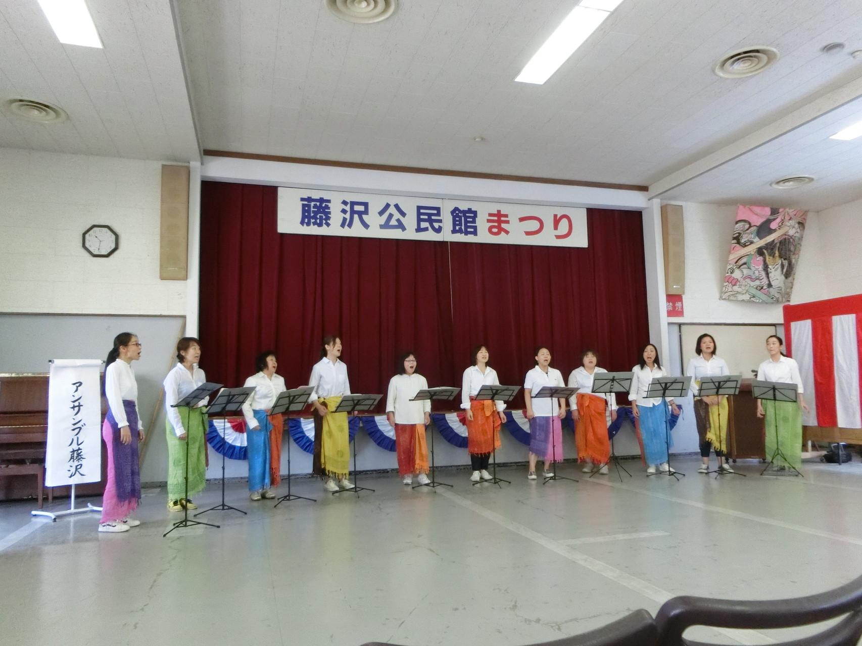 15年公民館祭り 3年ぶりの祭り参加!