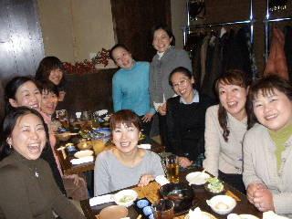 09年のKVEC後の宴会 「カンパ~イ!」