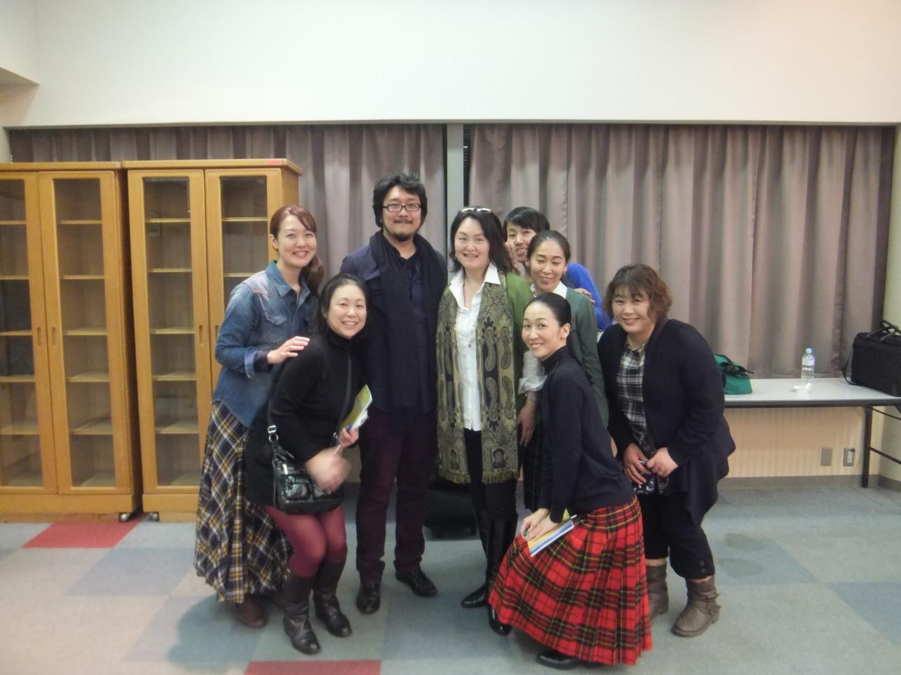 大好きなスザンナ山本さんとフィガロと一緒に