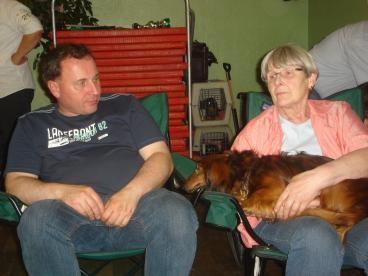 Mutter und ich in Jork 2011