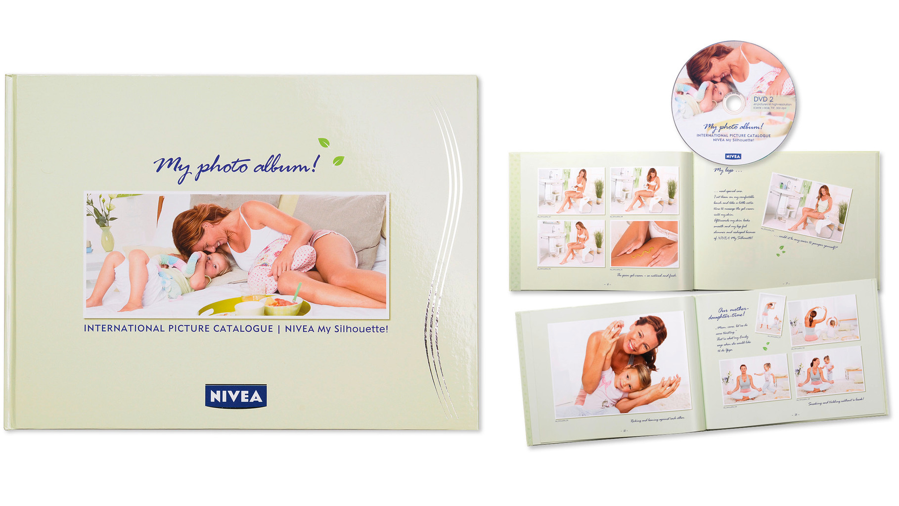 NIVEA · International Picture Catalogue · Konzeption, Art Direction am Set, Gestaltung, Text · Fotograf: Markus Hauser · WINTERPOL