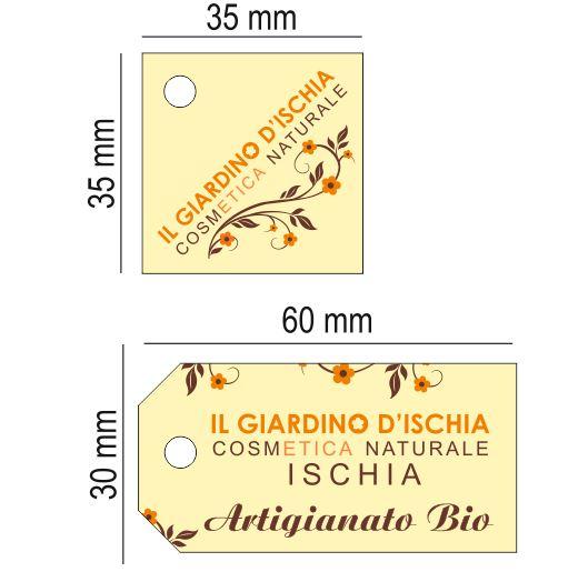 tag per personalizzazione packaging regali