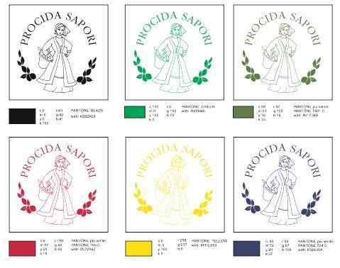 Progettazione cromatica del logo