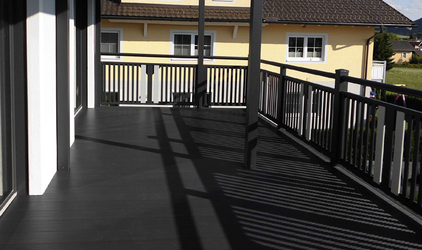 Balkonboden Alu