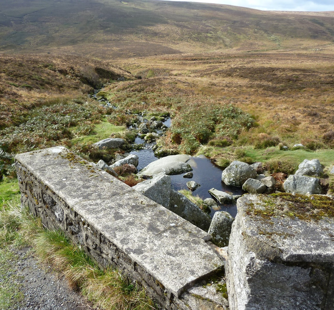"Die Brücke von ""p.s. I love you"" in den Wicklow Mountains"