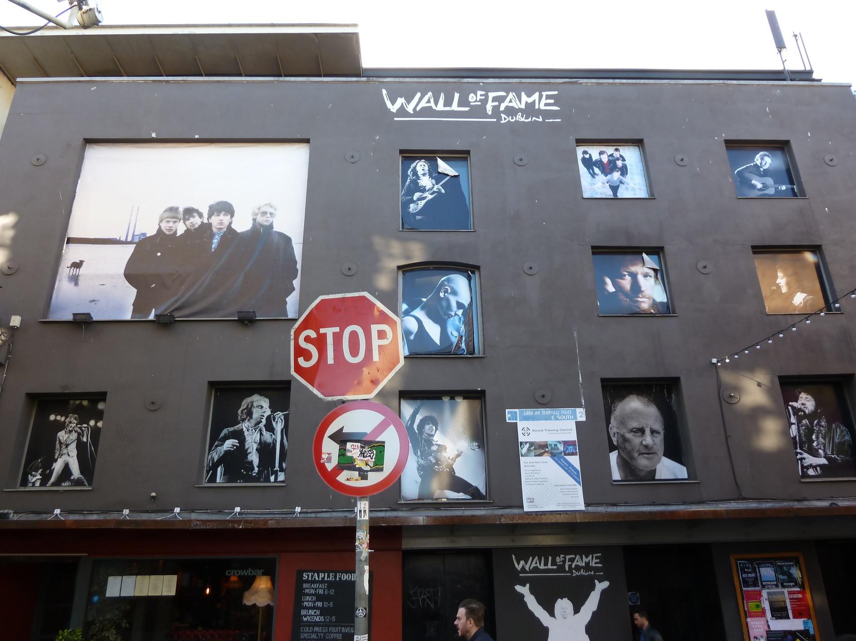 Irlands Berühmtheiten (u.a. U2, Dubliners, Sinhead O'Connor)