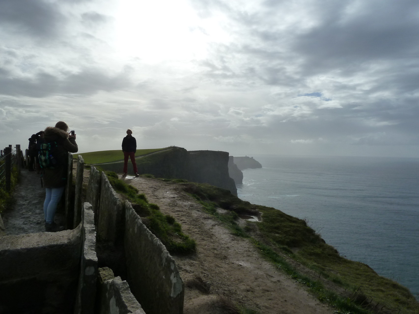 Cliffs of Moher - Leichtsinn