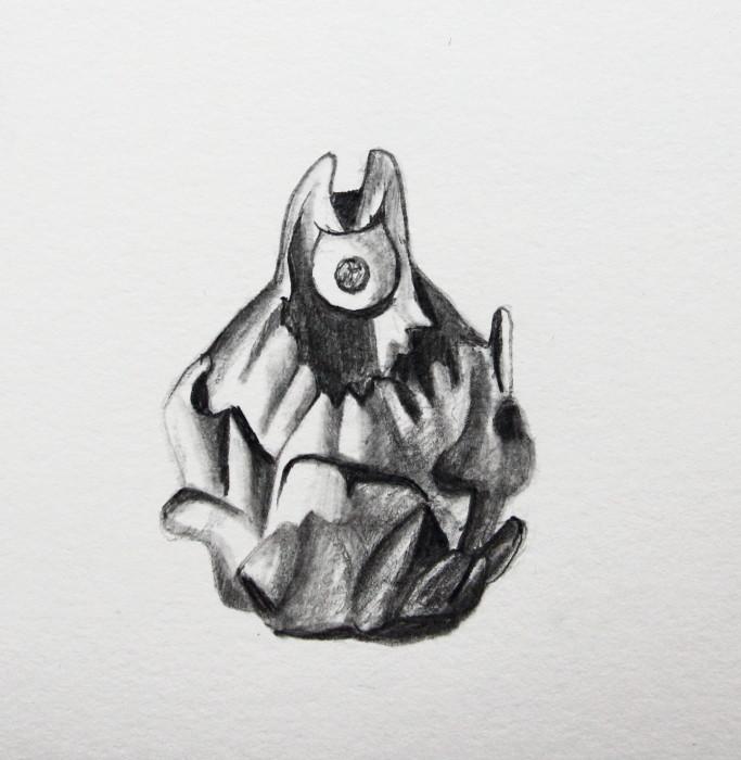 """Knonster """"Torto"""" (Zeichenpapier, 10x10cm)"""