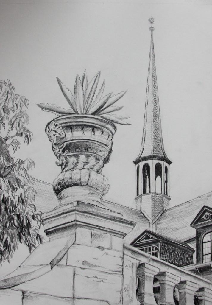 Bamberg (Zeichenpapier, 30x40cm)