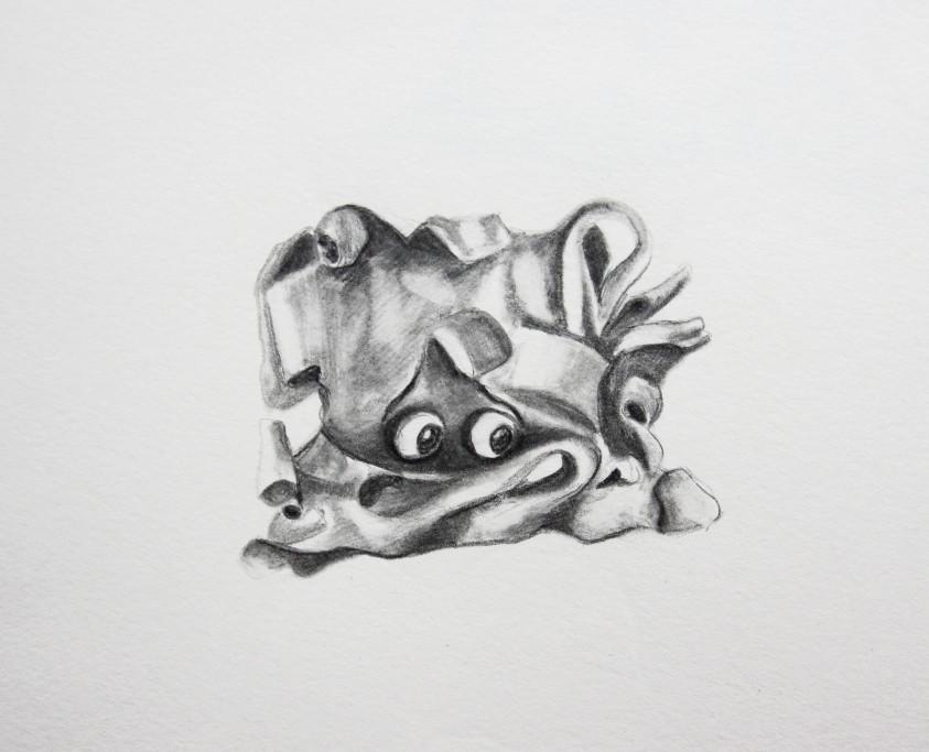 """Knonster """"Spino"""" (Zeichenpapier, 10x10cm)"""