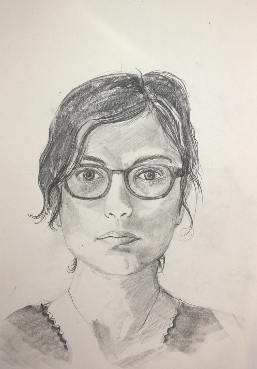 Sandra (Zeichenpapier, 30x40cm)