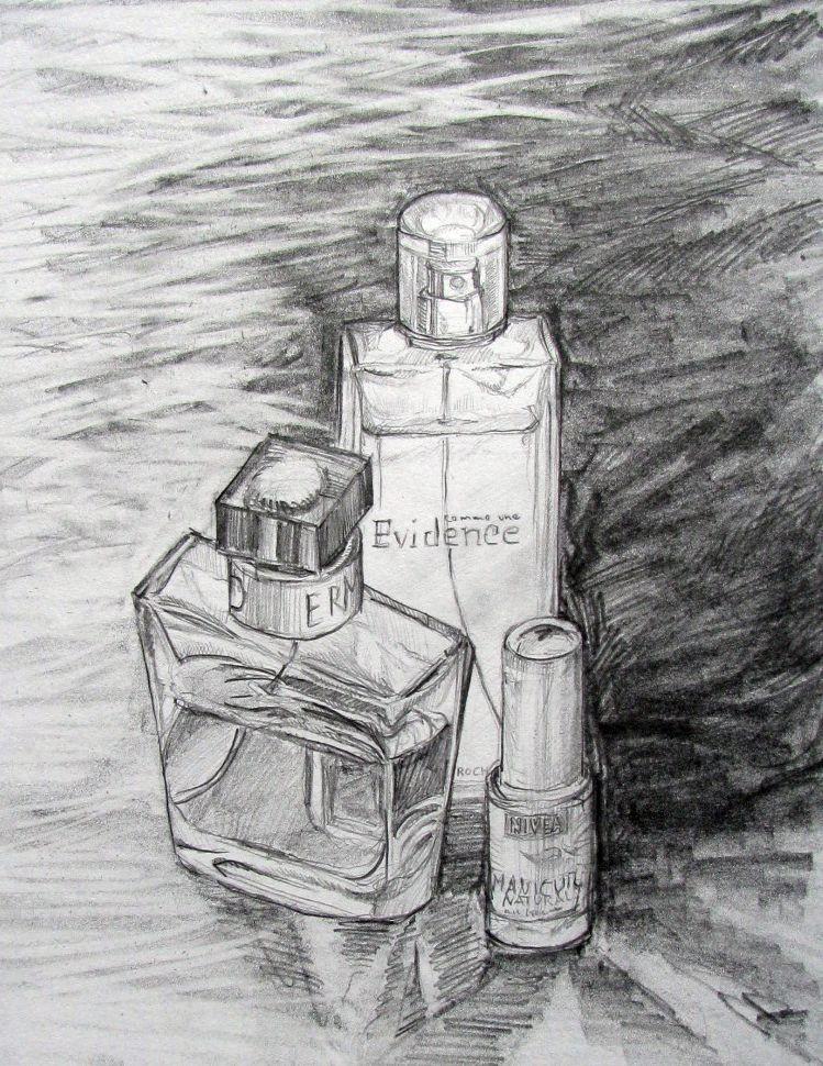 Parfum (Zeichenpapier, 30x40cm)