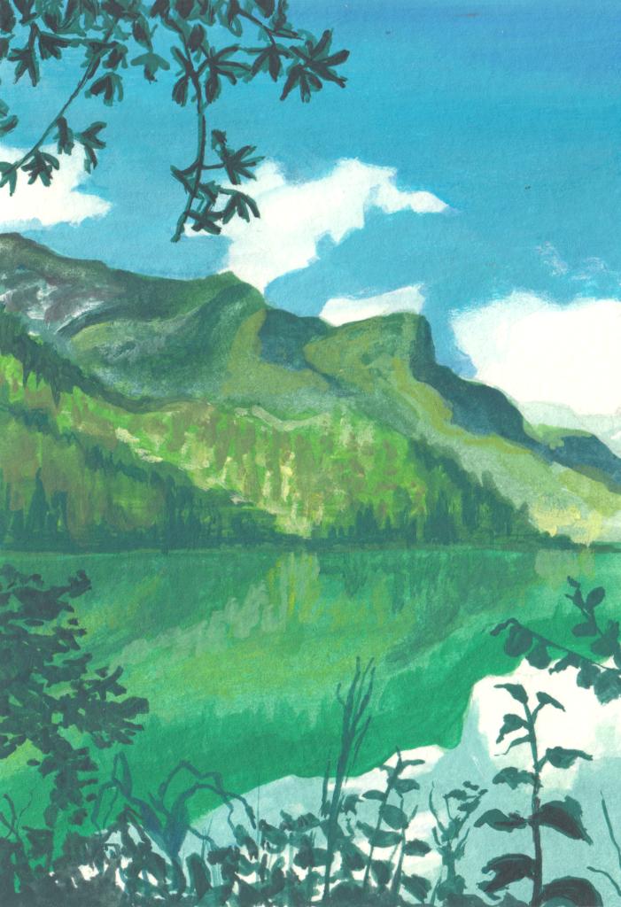 Bergsee (Skizzenbuch)