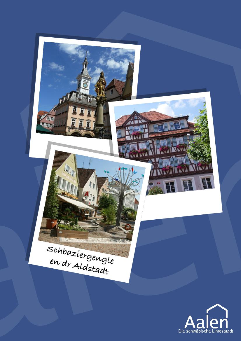 Poster Aalen Innenstadt