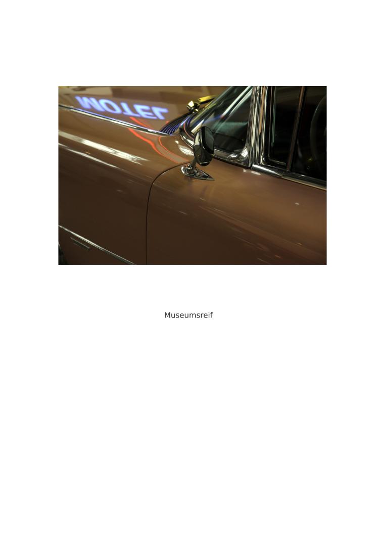 Museumsreif - Titelbild (Fotografie)