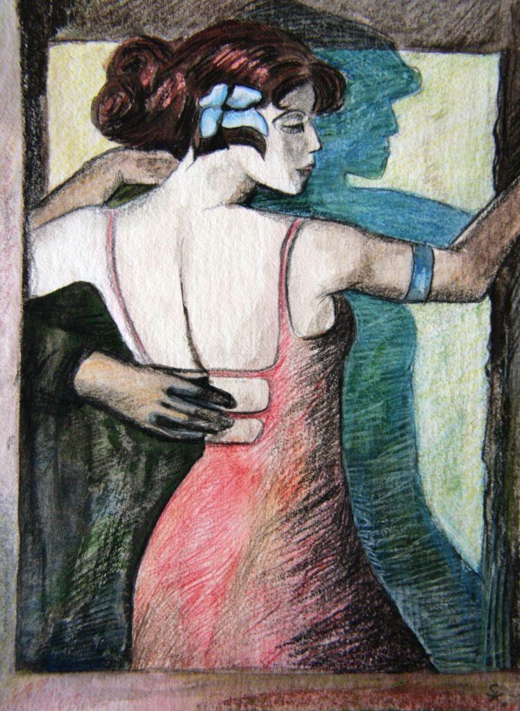 Tanz (Zeichenpapier, 21x29cm)