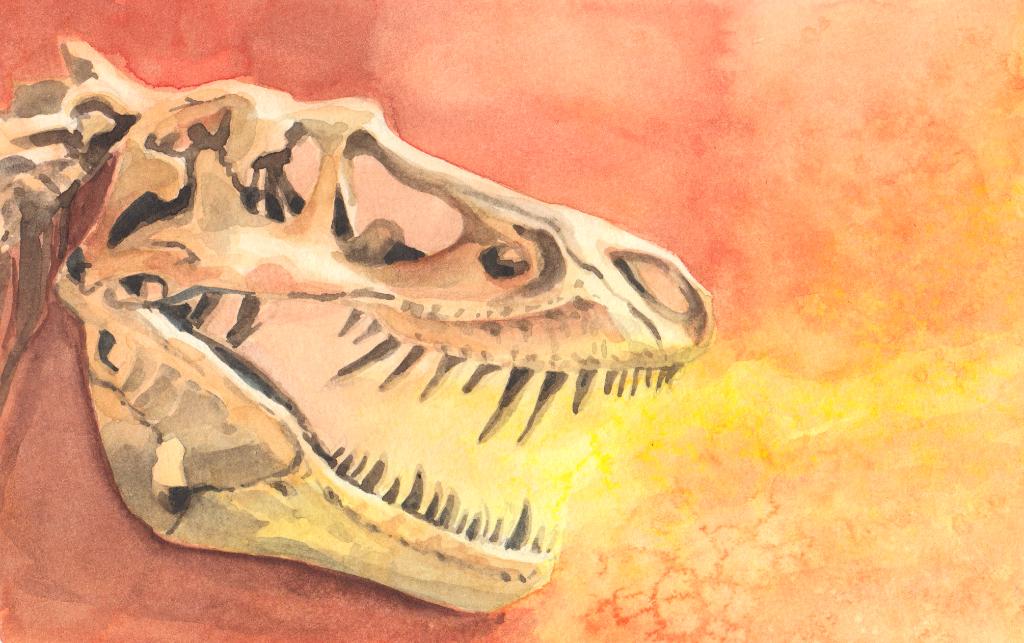Dinosaurier (Aquarellskizzenbuch)
