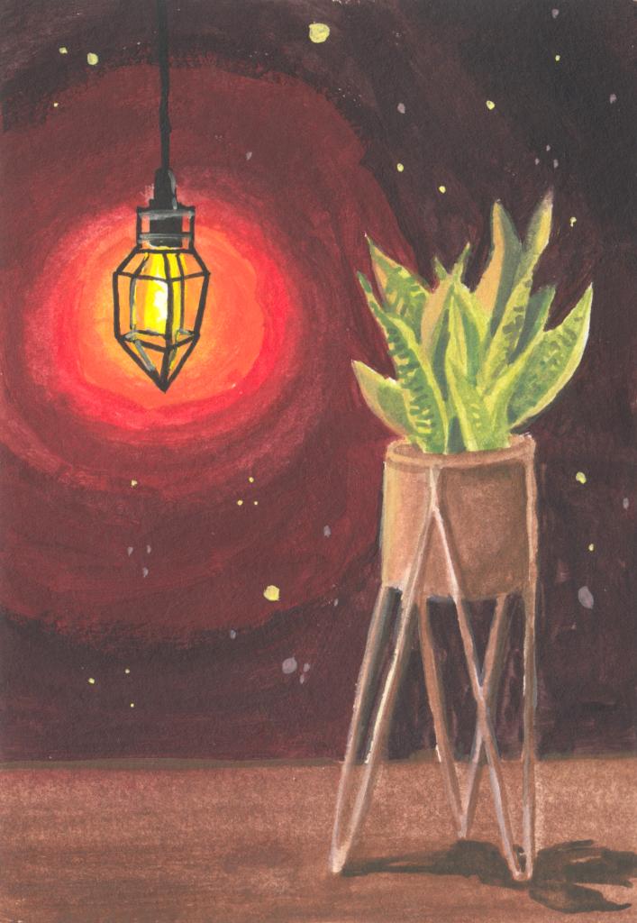 Pflanzenlicht (Skizzenbuch)