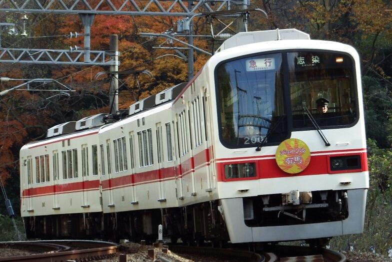 日中の急行列車 - 29.2km -神鉄粟生線ファンサイト-