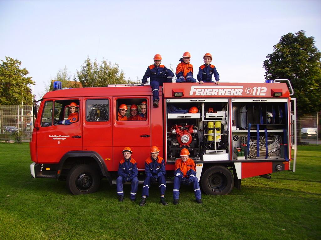 Jugendfeuerwehr Rondeshagen, 25.08. 2011