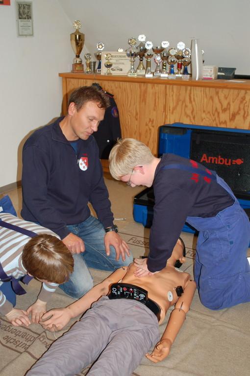 Erste-Hilfe-Ausbildung, 03.11.2011