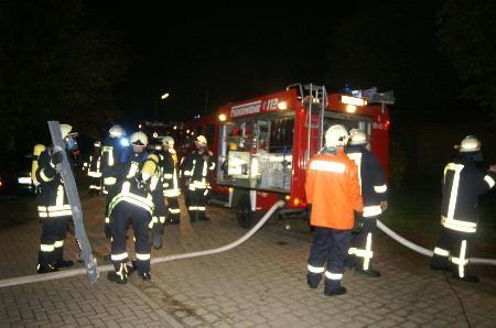 Brandschutzübung in der Einrichtung Thorsmoerk, 2007