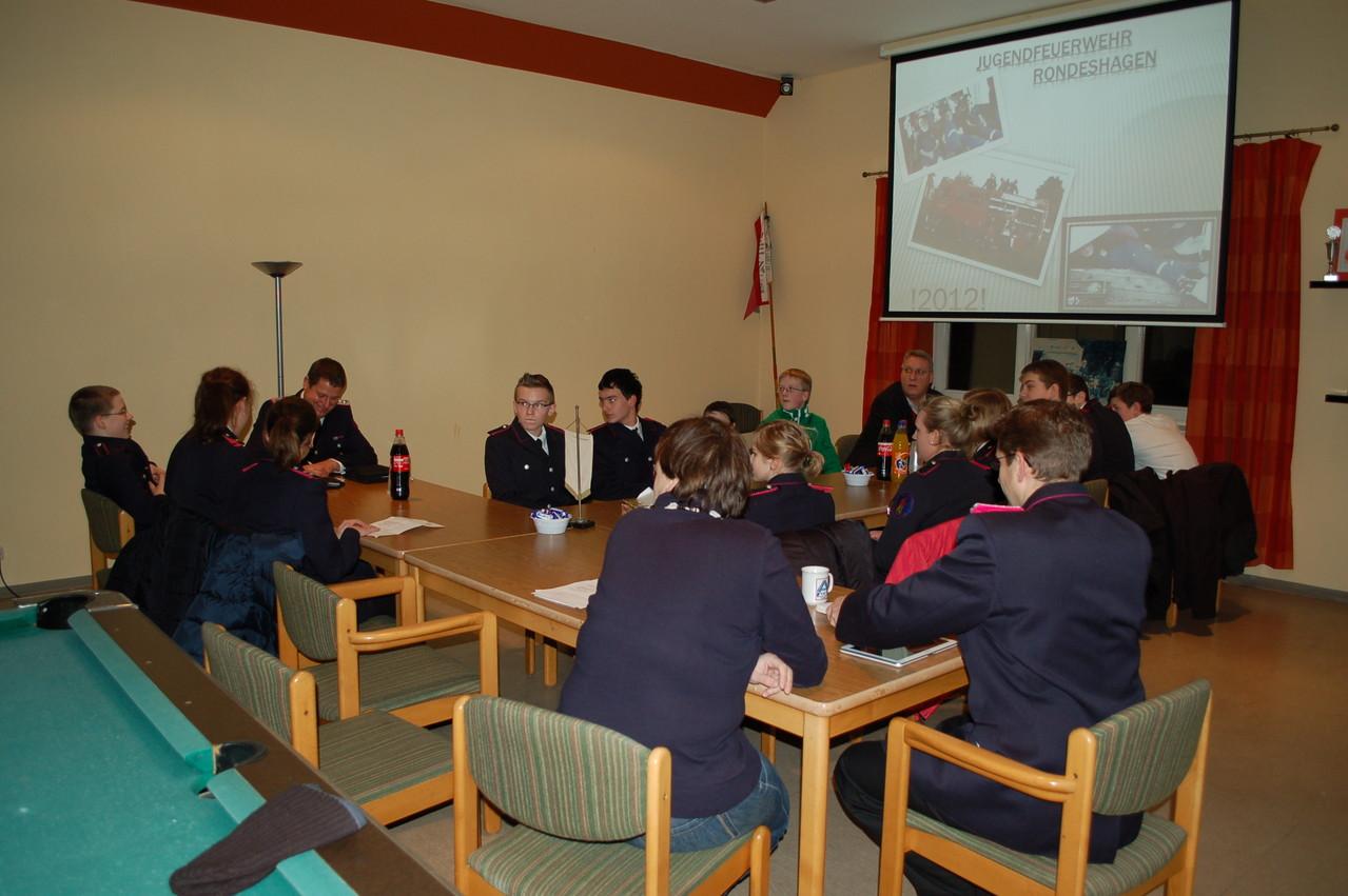 JF-Jahreshauptversammlung, 11.01.2013