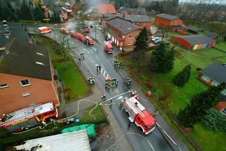 Großfeuer in Berkenthin, 2006