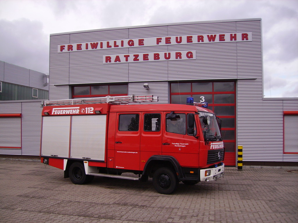 Zu Besuch bei der Feuerwehr Ratzeburg, 2011