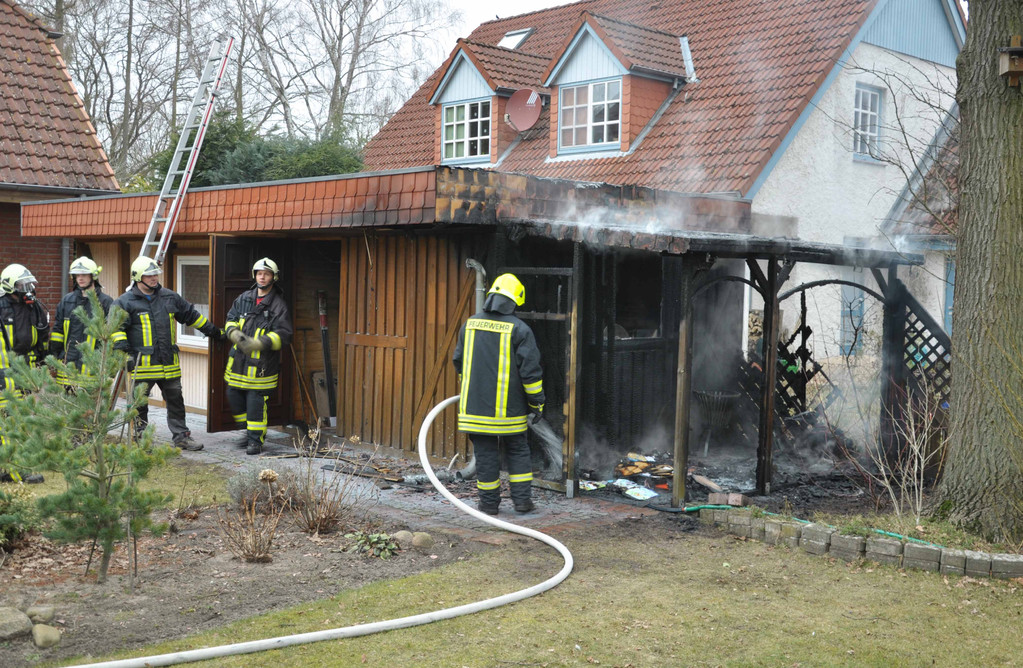 Feuer in Berkenthin, 2011