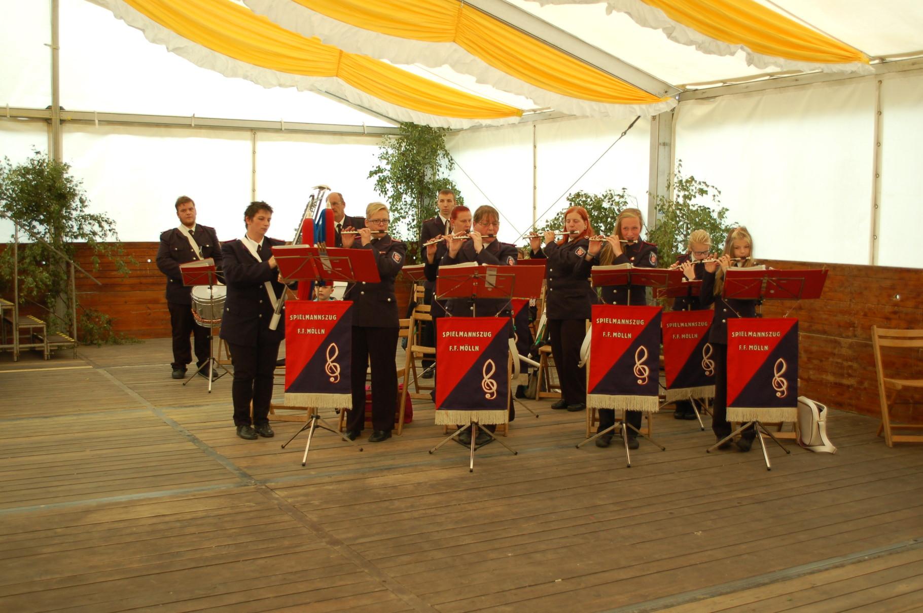 90 Jahre Feuerwehr Rondeshagen
