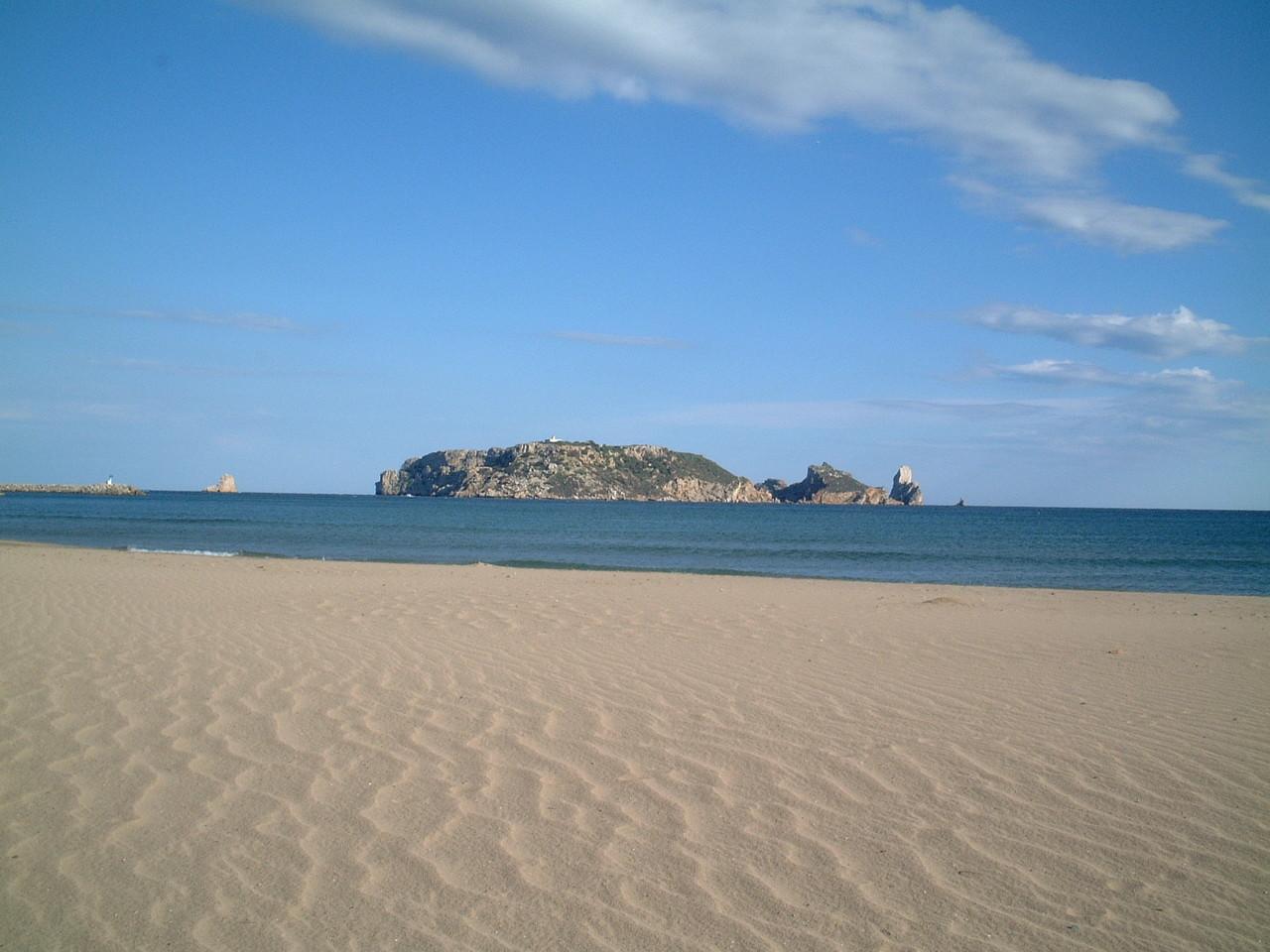 Inseln Medas mit Strand
