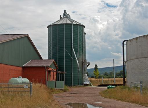 Paysage agro-industrielle à Argestorf
